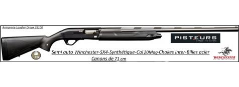 Fusil Winchester Semi auto ,SX4 composite Calibre 20 magnum -Canon 71 cm-Promotion-Ref 36842