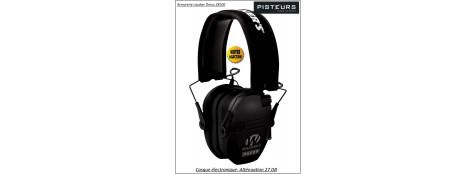 Casque électronique Alvis audio Razor noir-Promotion-Ref 30685