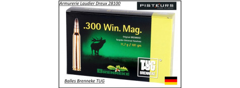Cartouches-BRENNEKE-TUG- TIG-Torpedo-Universal-grande-chasse-Allemandes-Cal 9,3x74R-ou- 9.3x62-ou-300 winch mag-ou-30-06-ou-308 winch-ou-8x57Jrs-ou 7x64-Promotion