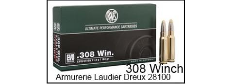 308 WINCH-Cartouches de grande chasse RWS - KS / Uniclassic.