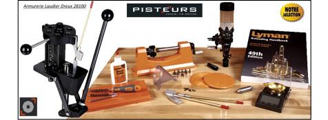 Presse-Lyman-Kit-T-Mag-de-luxe-rechargement-avec-balance-et- doseuse-case-trimmer -Promotion-Ref 32989