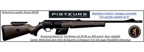 Browning Maral SF composite brown HC Calibre 30-06 Canon fluté Linéaire répétition canon fileté frein bouche busc réglable-Promotion-Ref 33510