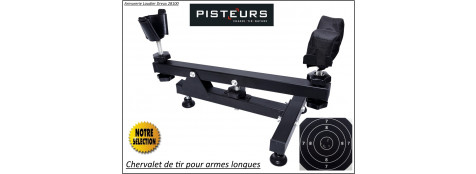 Chevalet-tir-Pisteur-Armes longues-réglable -Promotion- Ref 35082