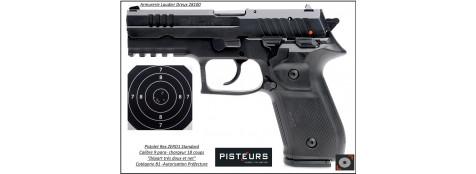 Pistolet REX ZERO1 S Calibre-9mm-para 17 coups-Catégorie B1-Autorisation-Préfecture-Promotion-Ref 35167