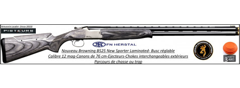 Superposé Browning B 525 New Sporter Laminated Calibre 12mag Canons 76 cm-Parcours de chasse-Promotion-Ref 35607
