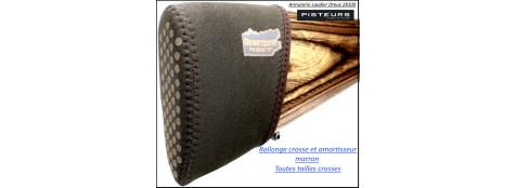 Sabot rallonge crosse amortisseur Beartooth noir ou marron ou camouflé