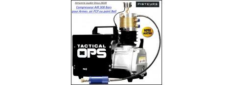Compresseur air Akis 300 Bars pour réservoirs Carabines PCP ou Paint ball-Ref 37651