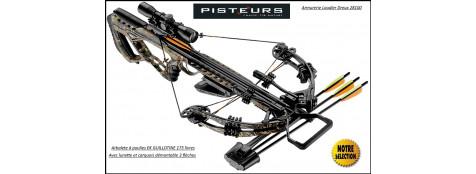 Arbalète  poulies guillotine EK archery 175 Livres+ lunette 4x32 -Promotion-Ref 37740