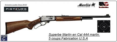 Carabine MARLIN 444 Calibre 444 Marlin Bronzée U.S.A 4 +1 coups canon 56 cm-Promotion-Ref 38010