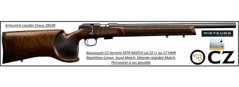 Carabine CZ Mod 457 Varmint MTR MATCH Calibre 17 HMR Répétition -Promotion-Ref CZ 457  varmint-17-781398