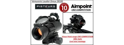 Viseur Aimpoint CRO Compétition rifle optic point rouge électronique-Promotion-Ref 23950
