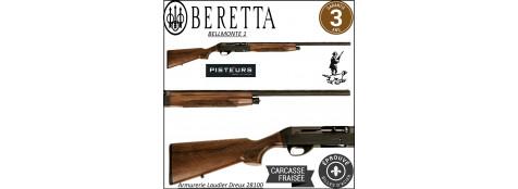 Fusil-semi automatique -Beretta-Bellmonte I- système inertie-3 coups-Crosse -noyer-Calibre 12 magnum- 3 Mobilchokes-Canon 76 cm-Promotion-Ref 23307-4