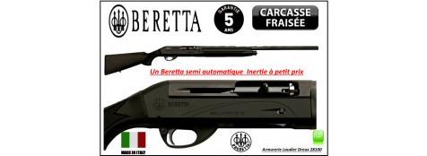 Fusil Beretta Bellmonte I Calibre 12 magnum semi automatique système inertie 3 coups Crosse synthétique -3 Mobilchokes-Canon 76 cm-Mallette-Promotion-Ref 23307 bis