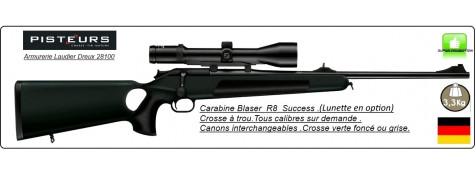 Carabine-Blaser-R8-Professional-SUCCESS-Chargeur-amovible-Vert-Forêt-Répétition-Linéaire-Droitier-ou-Gaucher-Intégral-Cal 300 winch mag-ou 9.3x62- ou 30-06 ou 7x64-à partir de 3770.€ ttc-Promotion