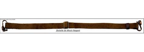 Bretelle-verte- Mosin Nagant-(copie)-Ref 25610