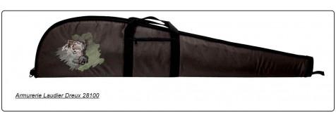 Fourreaux pour armes avec ou sans lunette.+ Joli écusson animalier.Long 1m18,ou 1m30