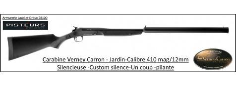 Carabine Verney Carron Calibre 410 Custom silence-silencieuse-Ref verney 410 custom