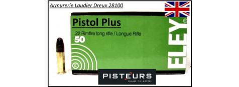 Cartouches-eley-pistol-plus-22LR-boite de 50-promotion