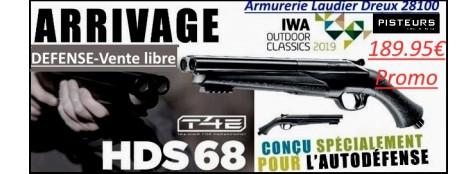 FUSIL DEFENSE TEASER Umarex T4E HDS Cal 68  balles-Caoutchouc-16 joules-C02-VENTE LIBRE-Promo 189,95 ttc-Ref 35767