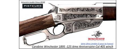 Carabine WINCHESTER Authentique1895 Calibre 405 winchester 125 ième Anniversaire -Ref 534285154-Winchester-1895