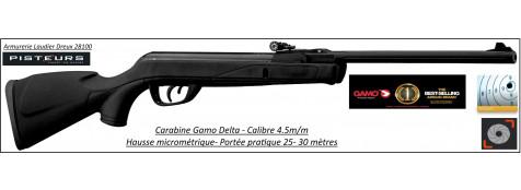Carabine GAMO Delta Air comprimé Calibre 4.5mm -7.5 joules -Promotion-Ref G1110-34375