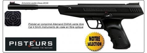 """Pistolet DIANA LP 8 Magnum Air comprimé Calibre 4,5m/m- Un coup-"""" Promotion"""".Ref 15052"""