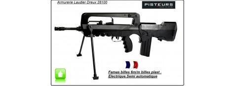 Fusil FAMAS Français  Assaut électrique Soft air Calibre 6 mm-Promotion-Ref 19757
