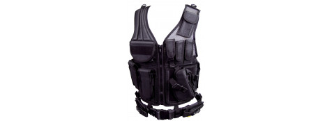 Gilet Multi poches pour Soft air ou Paint Ball.Ref 11582