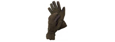 Gants chauds et silencieux ---en polyester et Thinsulate® avec membrane .T M .Ref 12632