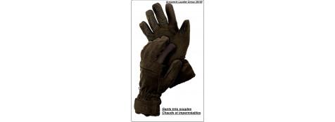 Gants chauds et silencieux en polyester et Thinsulate® avec membrane HART Osmotech transpirable et imperméable.Tailles M ou-L ou-XL.