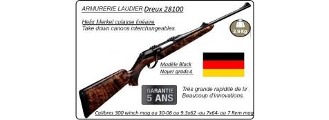 """Carabine-Merkel-RX-Helix-Black-Grade 4-Répétition-Linéaire-Calibres 7 x 64 ou 30-06 ou 9.3 x 62 ou 300 Winch mag ou 7 Rem mag-""""Promotion"""""""
