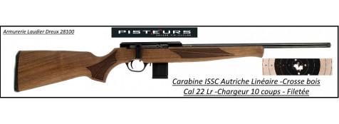 Carabine ISSC SPA Standard BOIS Autriche Répétition Linéaire-Cal 22 Lr-Promotion-Ref issc-896201