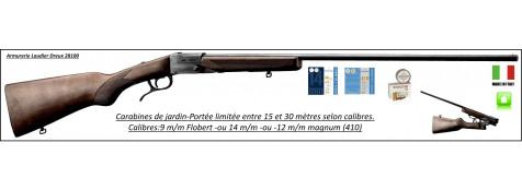 Carabines -jardin-calibres-9 m/m Flobert- ou 14 m/m - ou 12m/m- magnum 410-un coup -pliantes-<Ref JC503-JC505-JC510