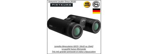 Jumelles-binoculaires-GECO-compact-Grossissement-10x32-ou-10x42-Qualité-Suisses-Allemandes.