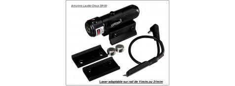 Laser Umarex.  Adaptable sur Beretta ELITE II.  Rails de 21 m/m et 11 m/m.Ref 14698
