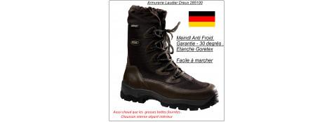 """Chaussures MEINDL """" NORKAP PRO GTX """" montantes étanches """" Grand Froid - 35 dégrés"""".Tailles:42 au 47-Promotion"""
