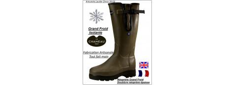 """Bottes-Le-Chameau-Vierzonord Plus-Néoprène-""""Grand froid""""-""""Promotion 195 € ttc au lieu de 210€ ttc""""-T 39- 40-41-42-43-44-45-46-47"""