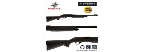 Fusil pompe Winchester SXP tracker rifled Calibre 12 Magnum Canon rayé 61cm-5 coups-Promotion-Ref 39478