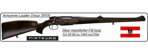 Carabines-Steyr Mannlicher-STUTZEN-SM12-Fût long-Répétition- Calibres 7x64 -ou 30-06-ou 270 winch -Promotions