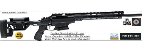 Carabine Tikka T3X TAC A1 Calibre 308 winch Répétition-Canon-fileté-pour-silencieux-ou-frein de bouche-Promotion-Ref -30949