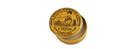 Graisse-PAULIN -Blonde - Pour tous cuirs et sellerie-Ref 1911