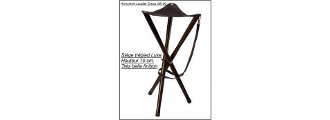 Siège-trépied-luxe- Hauteur 70 cm-Ref 15725