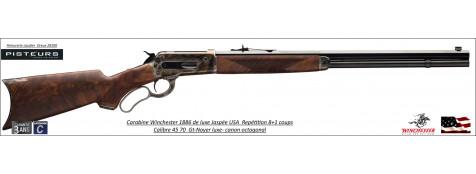 Carabine Winchester 1886 luxe DLX RIF Case Hardener USA Calibre 45 70 GT 8+1 coups-Ref 534227142